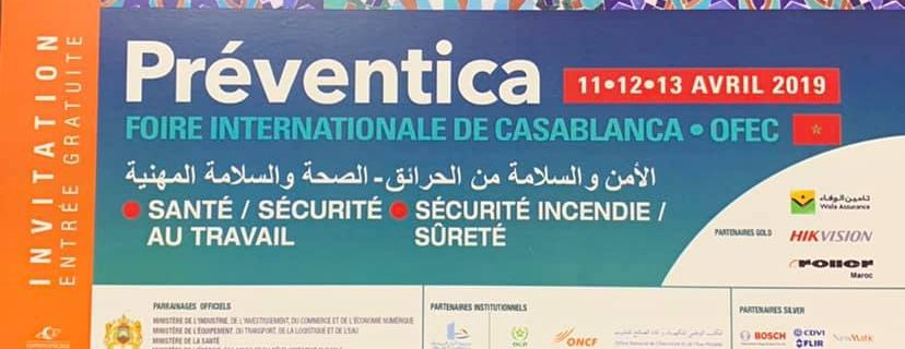 Fire Detection Equipment to DMTech at the Еxhibition Preventica 2019 – Casablanca.